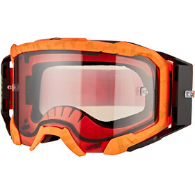 Leatt Velocity 5.5 Anti Fog Goggles, neon orange/light grey